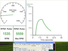 sensor for dyno rollrunner