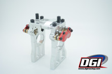 DGI split center bracket for losi 5ive
