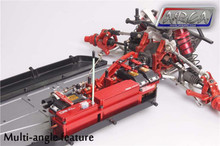 dual steering servo tray dbxl red