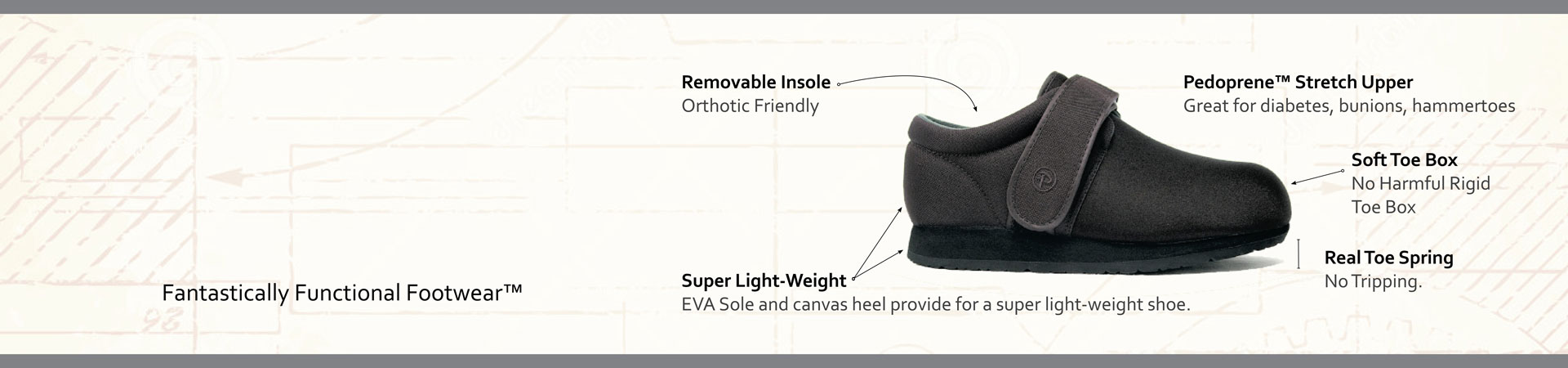 Pedors Classic Black Features And Benefits