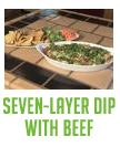 Seven Layer Beef Dip