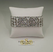 Elaborate CZ statement Bracelet
