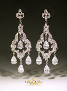 Classic Vintage Chandelier Earrings (CUSTOM DESIGN)