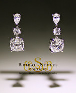 Timeless CZ Drop Earrings