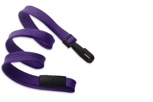 "3/8"" Breakaway Woven Lanyard with Narrow Plastic Hook (487NPH)"