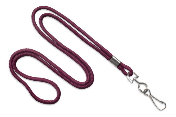"Round Braided 36"" Lanyard with Swivel Hook (486)"
