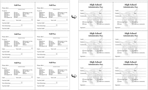 Customized Spiral Slip Booklet Example