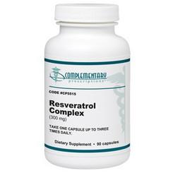 Extension Resveratrol (resveratrol complex)  300 mg. Complementary Prescriptions