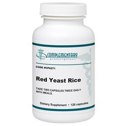 Red Yeast Rice 600 mg 120 caps. Complementary Prescriptions