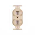 HellermannTyton | FP106MF-I | DUPLEX MOUNTING FRAME -  |  Lectro Components