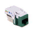 HellermannTyton | RJ45FC3-GRN | CATEGORY 3 8P8C RJ11 FLUSH  |  Lectro Components
