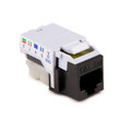 HellermannTyton | RJ45FC5E-BRN | CATEGORY 5E FLUSH MOUNT  |  Lectro Components