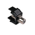 HellermannTyton | FINSERT-BK | F CONNECTOR - BLACK   |  Lectro Components