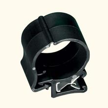 HellermannTyton | 151-00174 | EC39 CABLE CLAMP BLK HIR |  Lectro Components