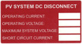 HellermannTyton | 596-00241 | DC RATING LABEL 50/RL |  Lectro Components