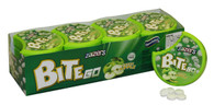 Zazers On the Go BiteGo Kosher Sugar & Gluten Free Green Apple Flavor Candies (Pack of 12)