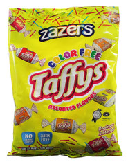 Zazaers Color Free Assorted Flavors Kosher Taffys - 400gram