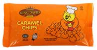 King David Vegan Caramel Chips Non-dairy Lactose Free Kosher 250-gram