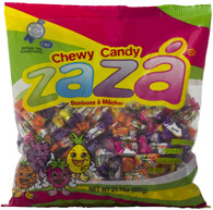 Zaza Assorted Flavors & Colors Fruit Chewy Kosher Candy