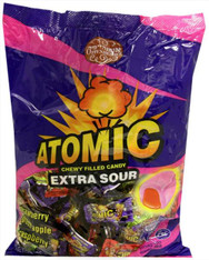 Atomic Extra Sour Chewy Cream Filled Kosher Candy