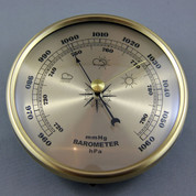 Gold Barometer 130mm