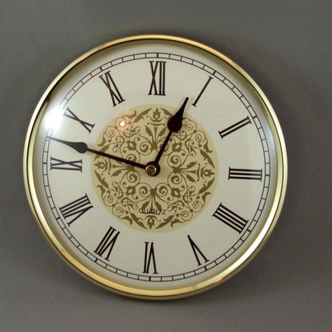 Clock inserts young town woodturning supplies craft for Clock mechanisms for craft projects