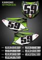 Strokes Number Plates Kawasaki