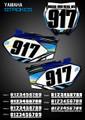 Mini Strokes Number Plates Yamaha
