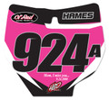 GNCC HBD Pink 17 - Front Number Plate