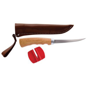 "Berkley BC4FKSS Wooden Handle 4"" Fillet Knife"