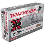 Winchester 30-06 Springfield 150 Grs. gr. Super-X, 2920 fps, 20 rounds/box - X30061