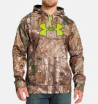 Under Armour ColdGear® Infrared Armour® Fleece Scent Control Men's Hunting Hoodie