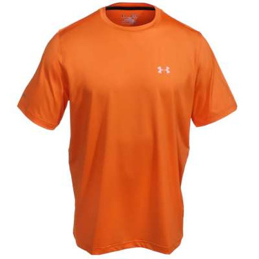 Under Armour Men's Orange Performance Crew Iso-Chill Element T-Shirt