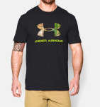 Under Armour Camo Fill Logo Men's Hunting Short Sleeve T-Shirt