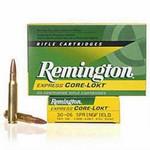 Remington Core-Lokt Ammo .30-06 Springfield 180 Grain PSP Bullet 2700 fps 20 Rounds - R30065
