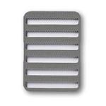 C&F Design 16524 Small Fly Box System Micro-Slit Foam 6 Row MSF