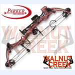 Parker C409-060R-WB Pink Lightning Whisker Biscuit Right Hand Compound Bow Package