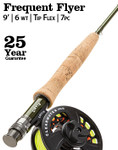Orvis Clearwater Frequent Flyer 6-weight 9' Fly Rod -- SI8P1E-51-65