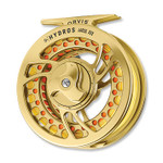 Orvis Hydros Large Arbor Fly Reel - Gold -- SI3R5Y-61-15