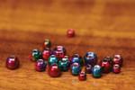 Hareline Rainbow Hued Plummeting Tungsten Beads