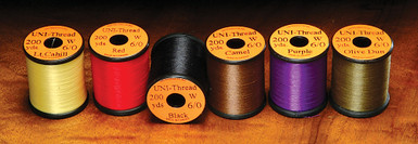 Hareline Uni 6/0 Waxed Thread