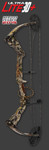 """Parker Ultra-Lite 30+ Outfitter Compound Bow Kit, 60-70#, 26-31"""", Right handed, Next Vista camo - C316-070R-WB"""