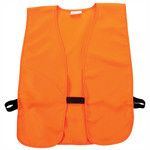 Allen 15753 Big Man Orange Safety Vest Chest to 60""
