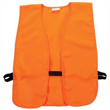 """Allen 15753 Big Man Orange Safety Vest Chest to 60"""""""
