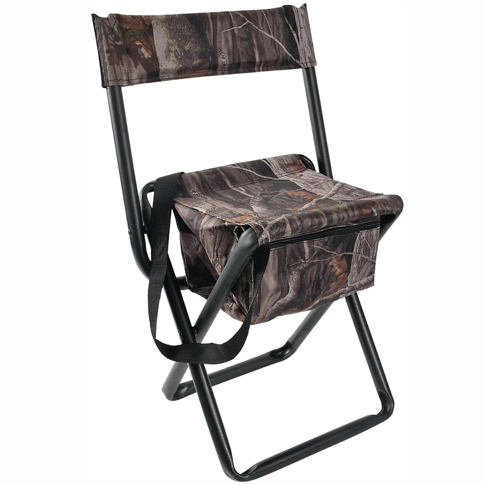 Allen 5810 Folding Stool With Backrest