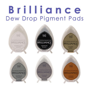 Brilliance Dew Drop Pigment Stamp Pads