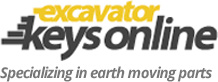 Excavator Keys Online