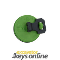 Terex Fuel Cap (Green) 2045-407