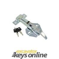 Kobelco Engine Cover Catch 2427R302D2, 2427R301