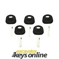 New 5 Sany Master Key